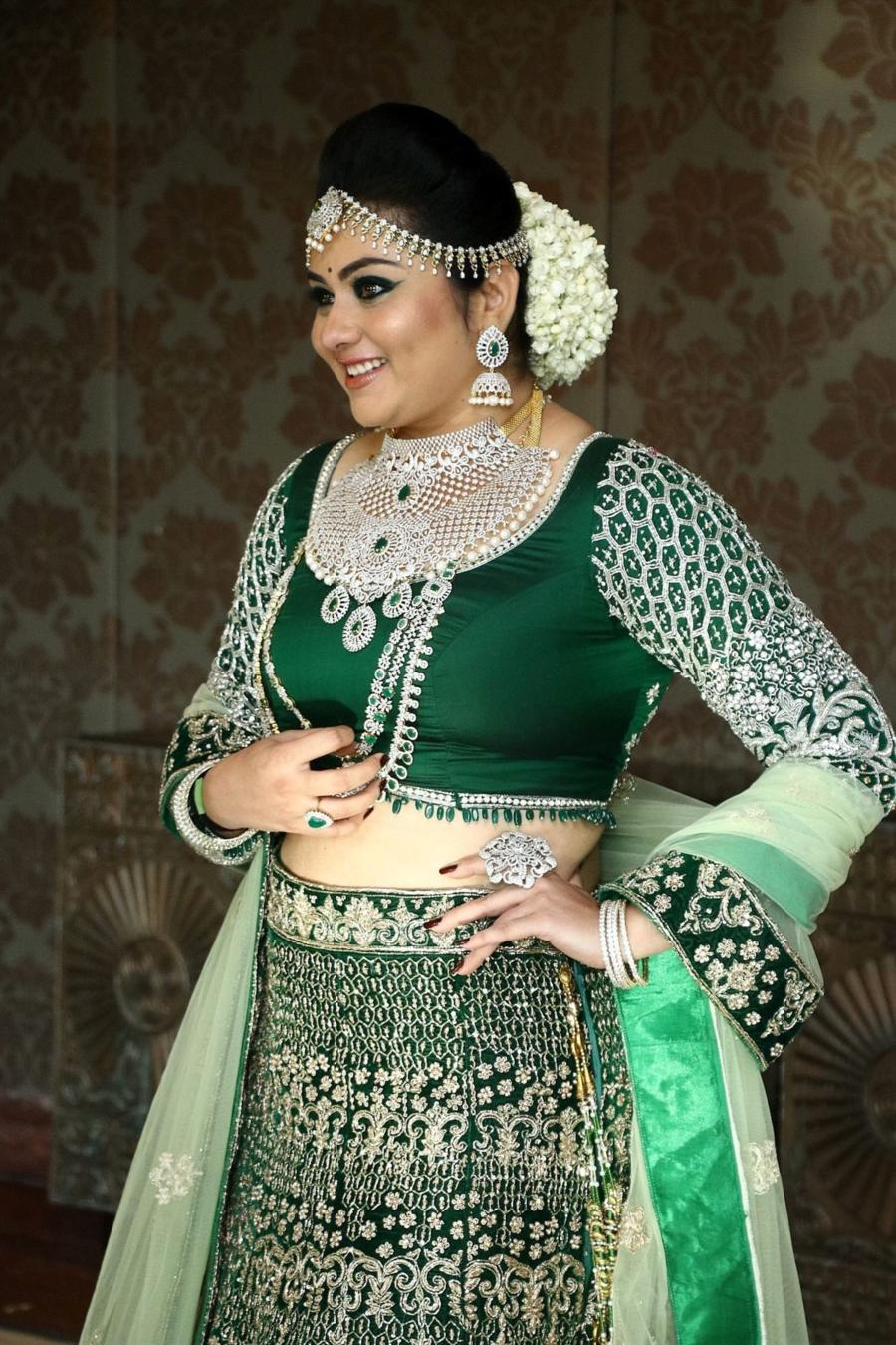 Indian Model Namitha at Santhoshi's One Day Makeup & Hair Seminar