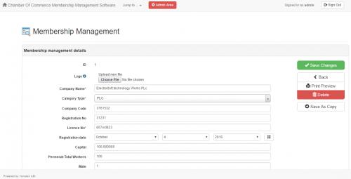 Cara membuat Chamber of Commerce Sistem Manajemen Keanggotaan Gratis Source Code WEB