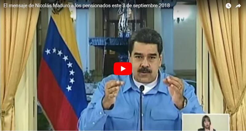 Maduro acusa a todos los pensionados de vender su efectivo a las mafias colombianas