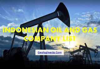 perusahaan minyak dan gas bumi di indonesia