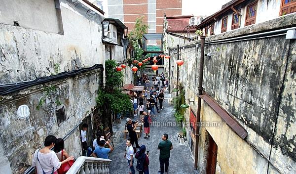 Kuala Lumpur Pranskter Lane