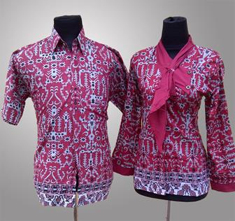 Contoh Model Batik Kerja Para Wanita