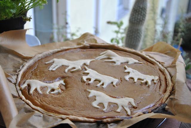 Frisch aus dem Ofen: Pumpkin Pie mit Einhörnern