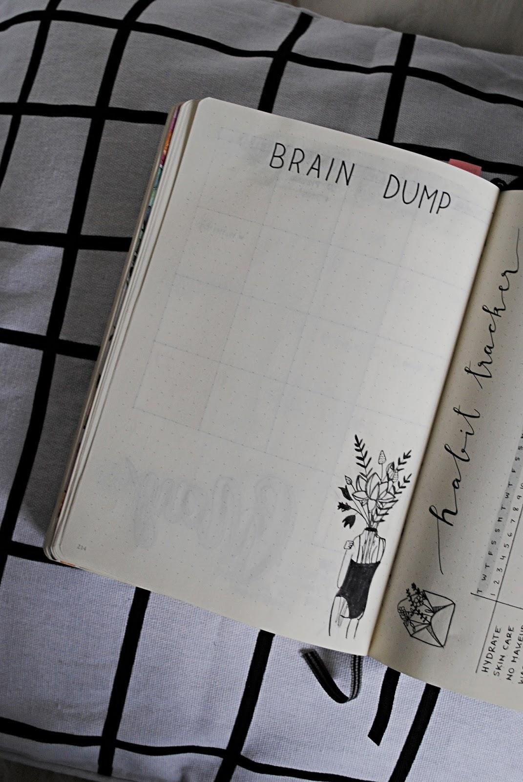 brain dump page
