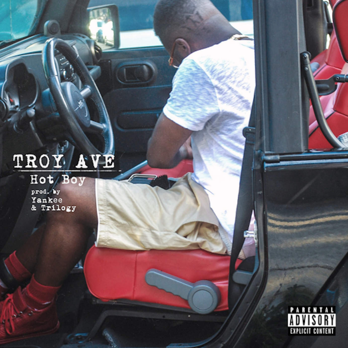 Troy Ave - Hot Boy - Single Cover
