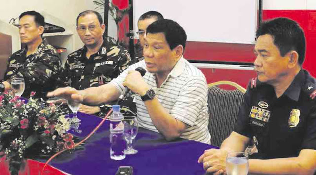 Pres. Rody: Let's continue peace talks