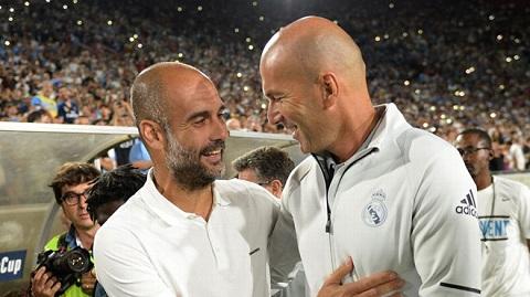 Pep Guardiola ca ngợi thành tích của HLV Zidane ở Champions League.