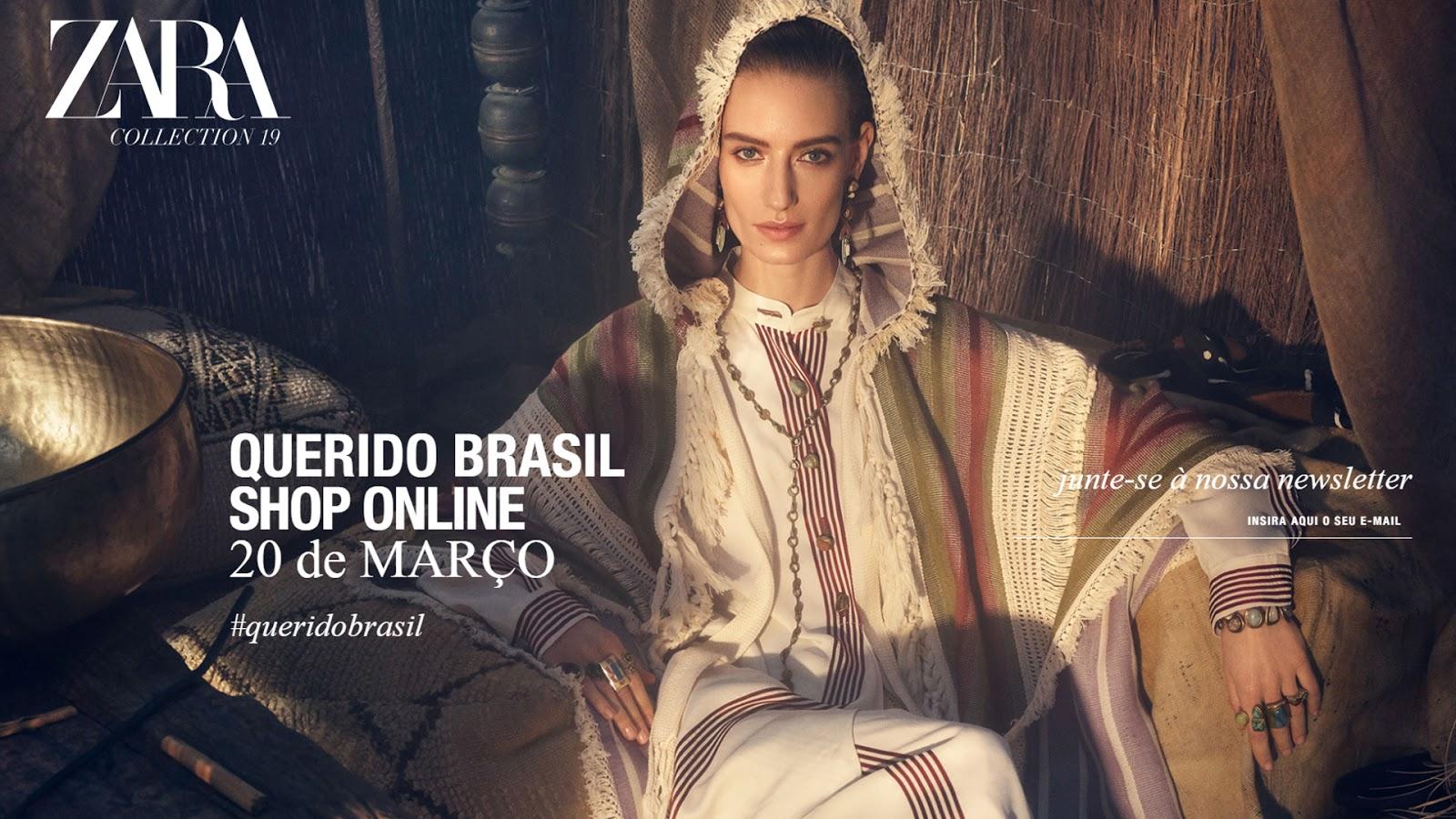 FINALMENTE: ZARA LANÇA LOJA ONLINE NO BRASIL