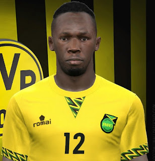 PES 2017 Faces Usain Bolt by FaceEditor Jefferson_SF