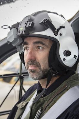 Casco Thales Scorpion monocular HMSD  © Eric Raz / Airbus Helicopters