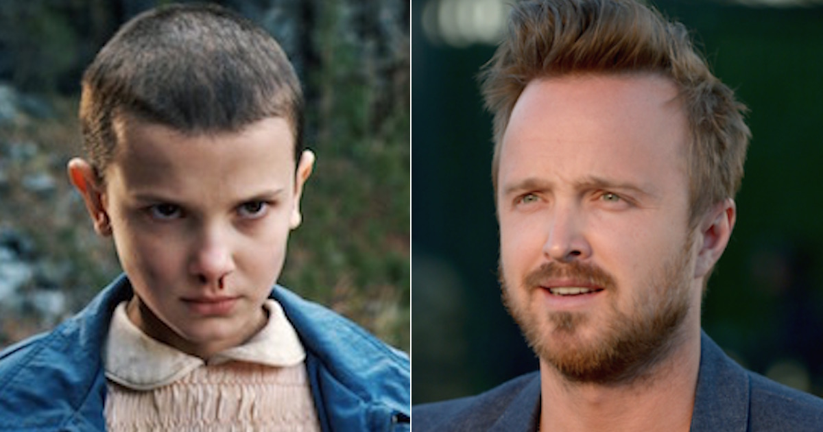 Aaron Paul, fan de Stranger Things