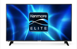 "Kenmore Elite 50"" 4K UHDTV"