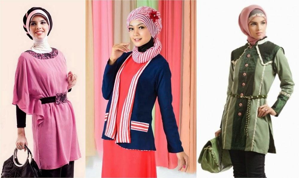 Model Baju Muslim Wanita Kerja Terbaru