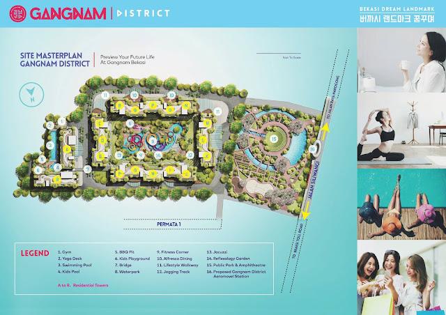master plan gangnam district bekasi