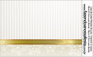 Gold and Grey Free Printable Candy Bar Labels.
