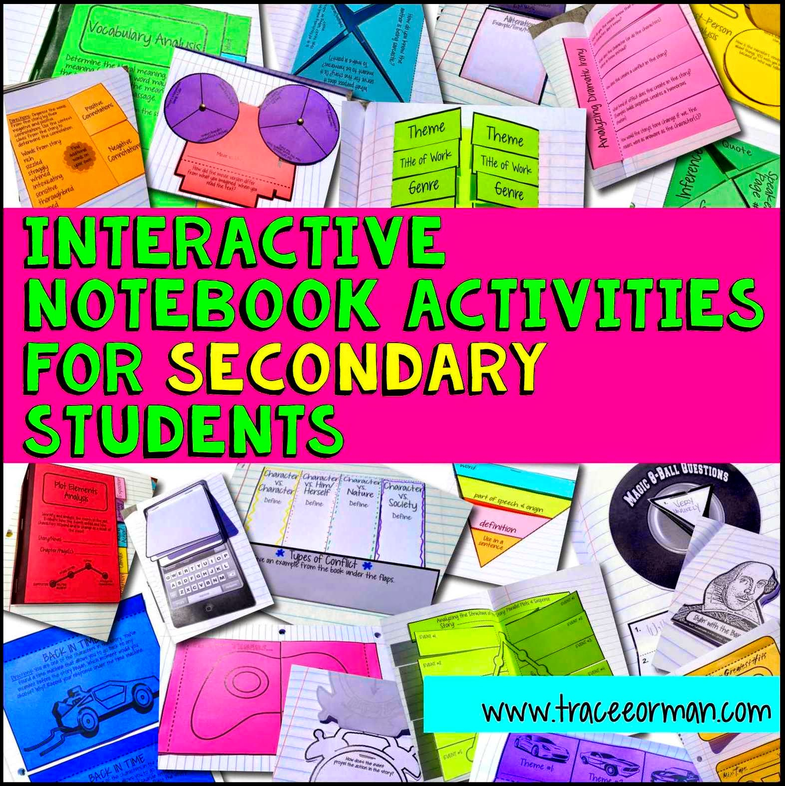 Mrs Orman S Classroom Interactive Notebook Examples And