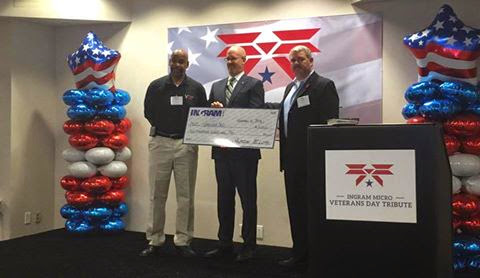 Ingram Micro Honors Veterans with a ,000 Gift to Veterans 360