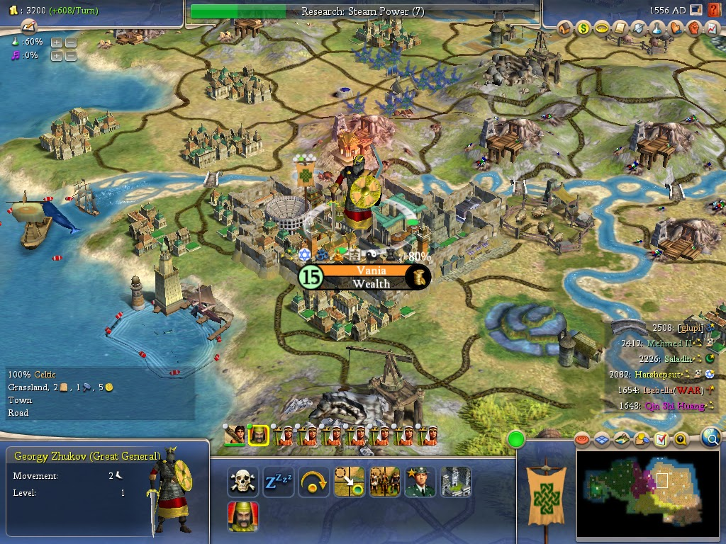 Civilization 4 - Great General | The Best Games Ever