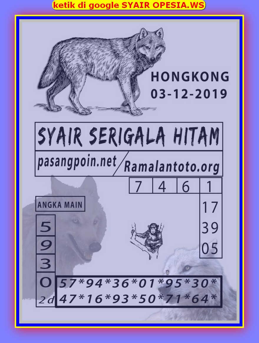 Kode syair Hongkong Selasa 3 Desember 2019 48