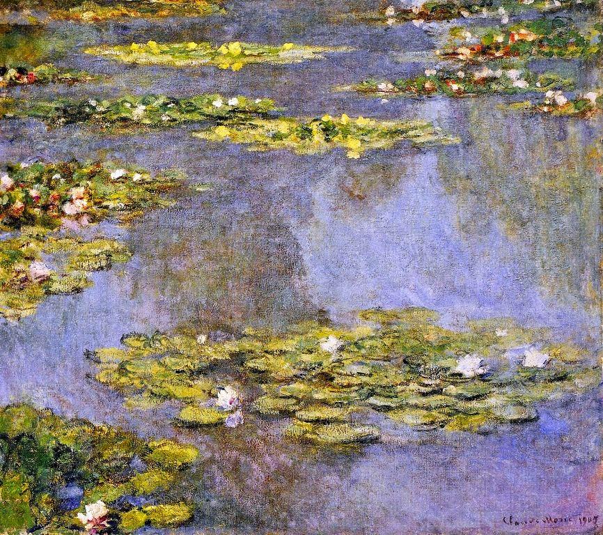 Claude Monet Nymphéas. 1905 Cristie's, 2012