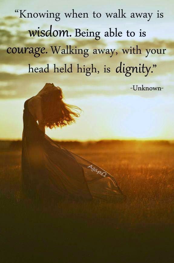 Courage To Walk Away Quotes. QuotesGram