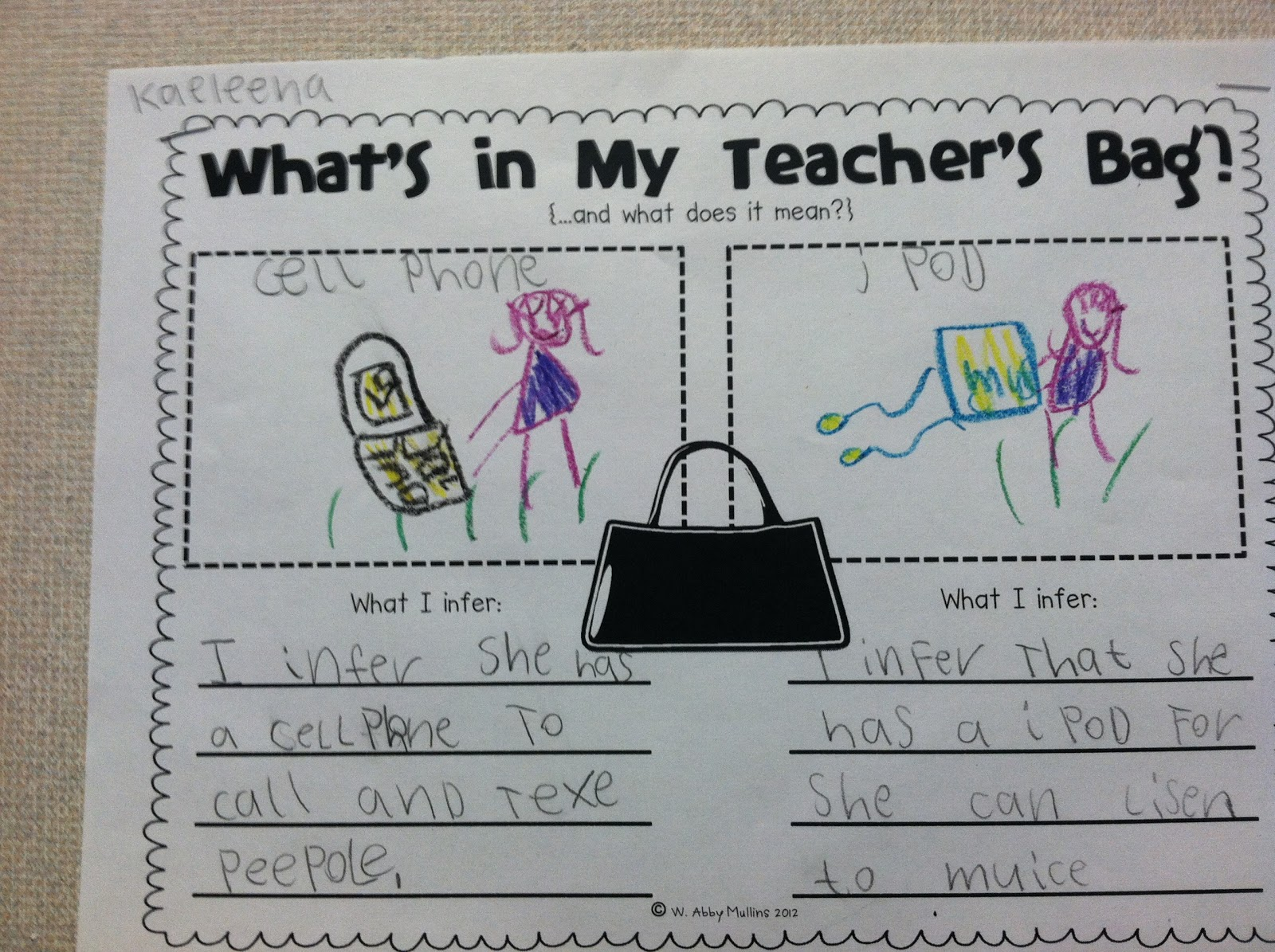 Team J S Second Grade Fun Making Inferences