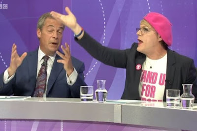 Izzard and Farage