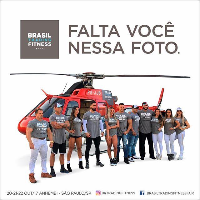 Falta você nessa foto! Venha para a Brasil Trading Fitness