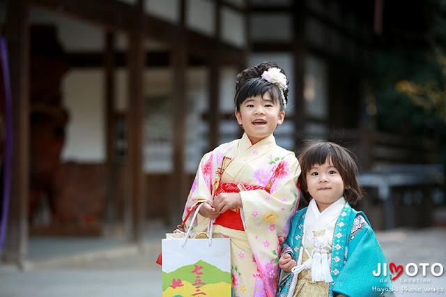 伊太祁曽神社での七五三出張撮影