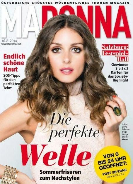 The Olivia Palermo Lookbook Olivia Palermo Magazine Covers