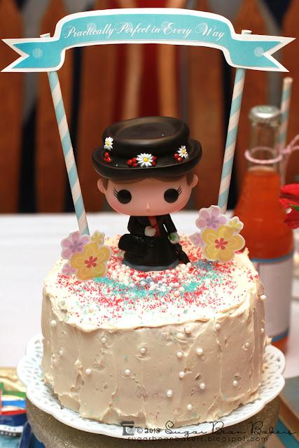 Mary Poppins Wedding Cake Topper