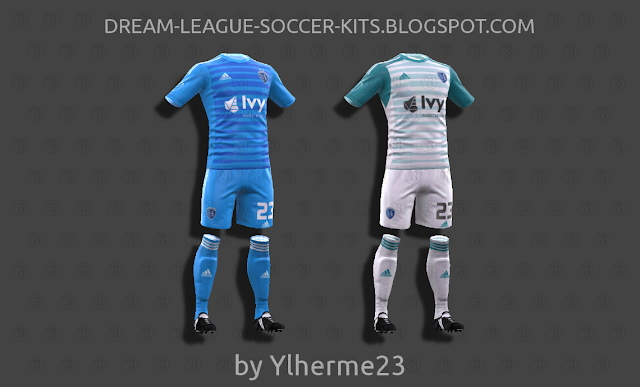 huge selection of aba9e cbacb Sporting Kansas City 2018 - Dream League Soccer Kits