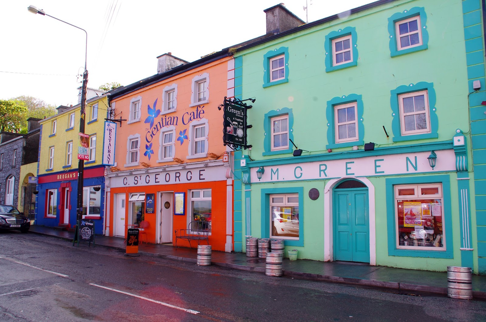 Kinvarra Ireland Colourful Shops