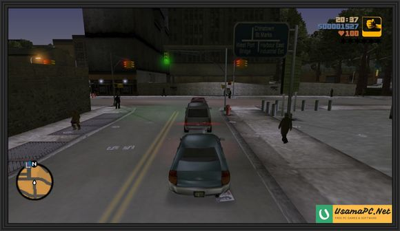 GTA 3 Gameplay Screenshot