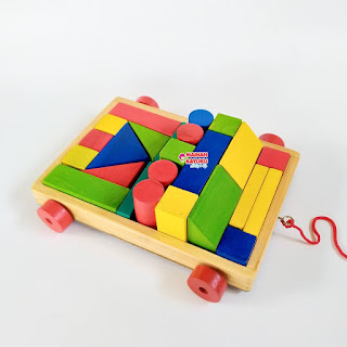 Balok Mobil Mainan Kayuku