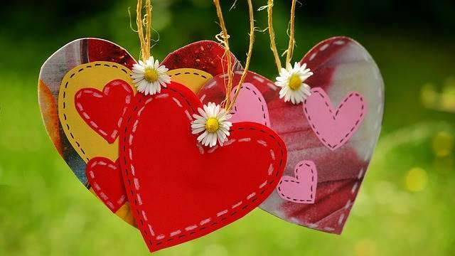 Corações de Páscoa