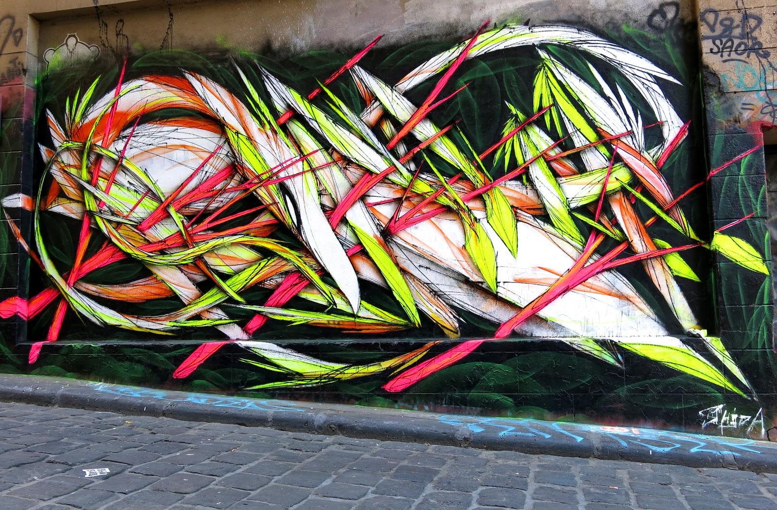 Shida New Murals In Melbourne, Australia | StreetArtNews ...