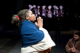 Msurshima Yongo as Jesus in Streetwise Opera and The Sixteen's The Passion. Photo by Graeme Cooper