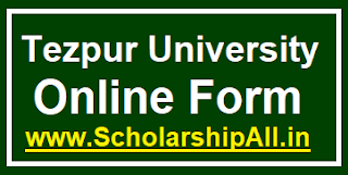 Tezpur University Online Form