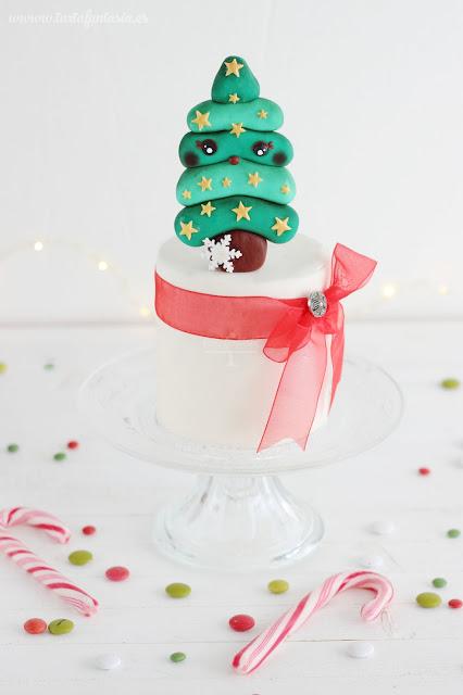 Tutorial Árbol de Navidad de Fondant