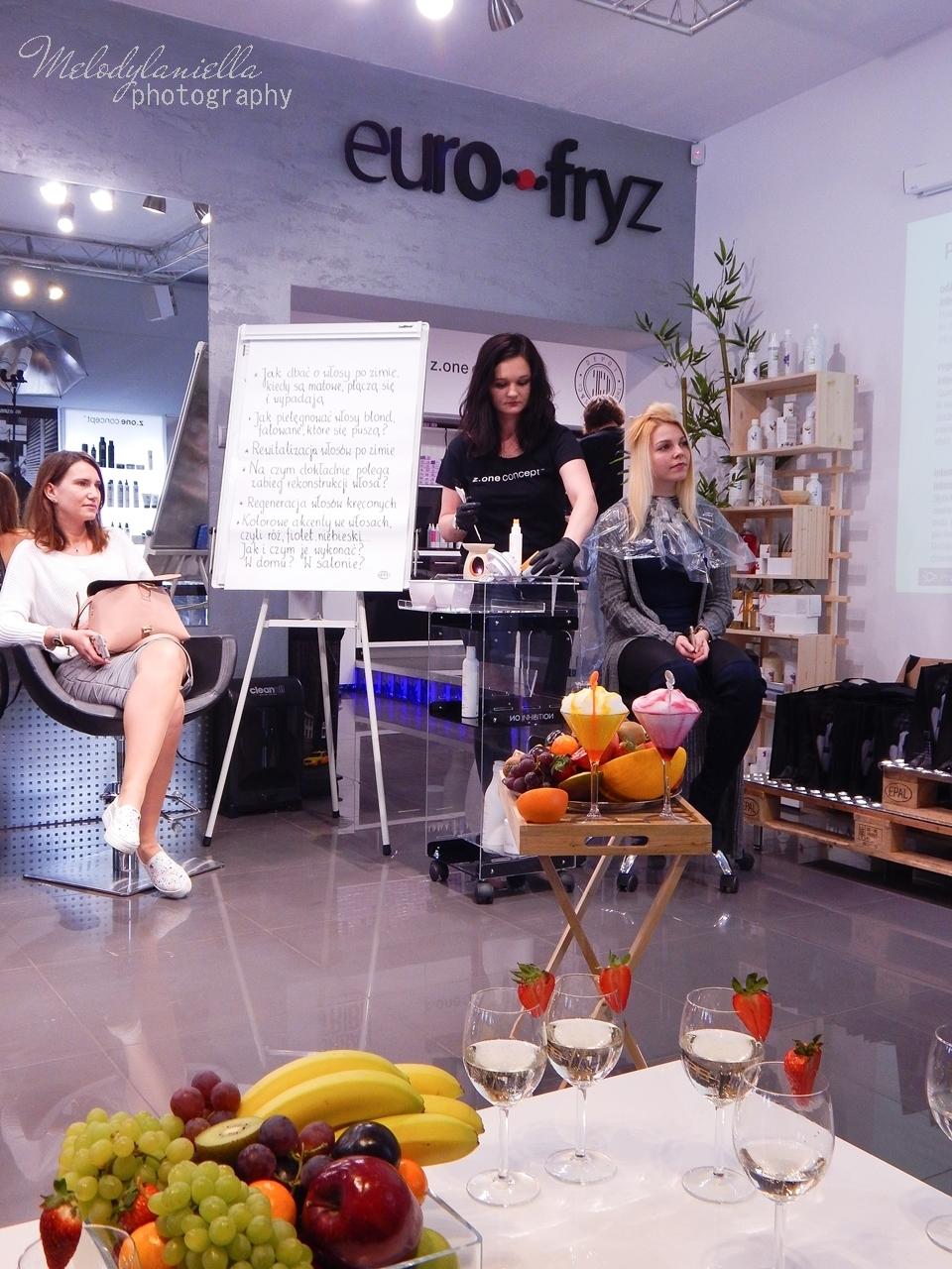 8  relacja spotkanie blogerek akademia z.one concept łódź szkolenia dla fryzjerów akademia fryzjerska koloryzacja melodylaniella jak dbać o włosy pielęgnacja koloryzacja włosów
