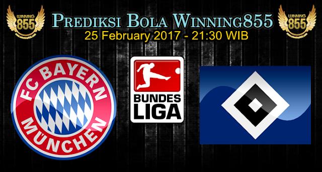 Prediksi Skor Bayern Munchen vs Hamburger SV