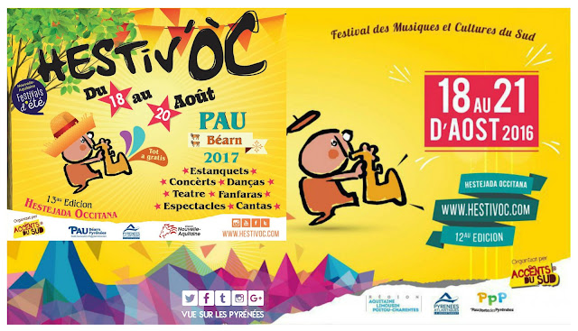 festival Hestiv'Oc Pau 2017