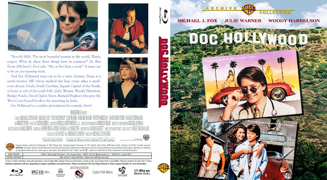 Doc Hollywood Bluray Cover