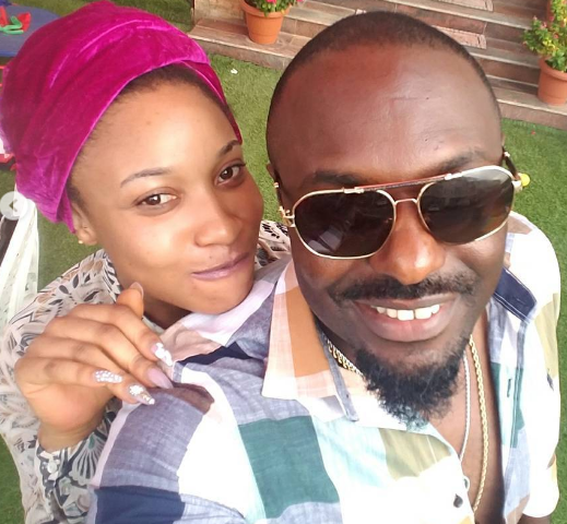 jim iyke visits tonto dikeh home