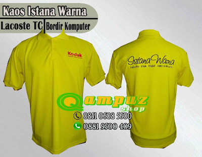 order kaos poloshirt untuk seragam terbaik, tempat pesan  kaos polo terbaik di surabaya