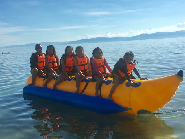 Banana Boat Ride at Lambug Beach Badian Cebu