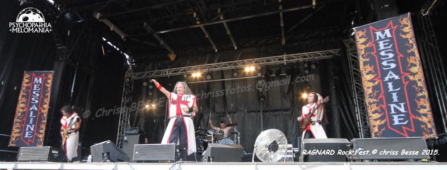 Messaline @Ragnard Rock Fest 2015, Simandre-sur-Suran 19/07/2015