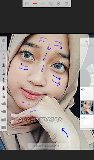 edit foto smudge android