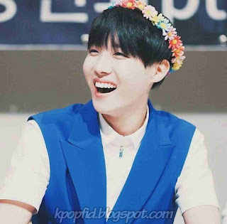 Photo Imut J-Hope Bangtan Boys